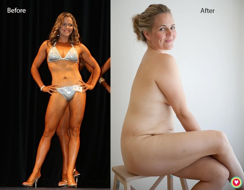 The photo that started Taryn Brumfitt's Body Image Movement