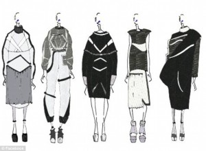 Sketches from Julia's collection