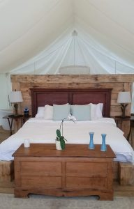 Whispering springs yurt